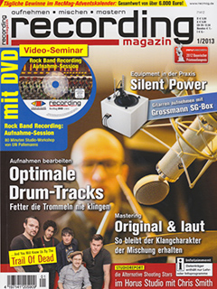 Recording Magazin 2013