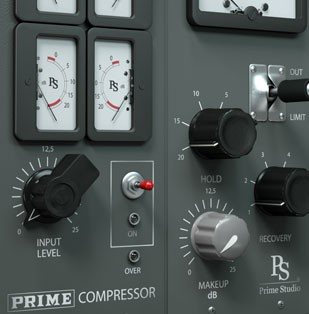 Prime Studio® Compressor Plug-in
