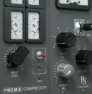 Prime Studio® Compressor Plug-in