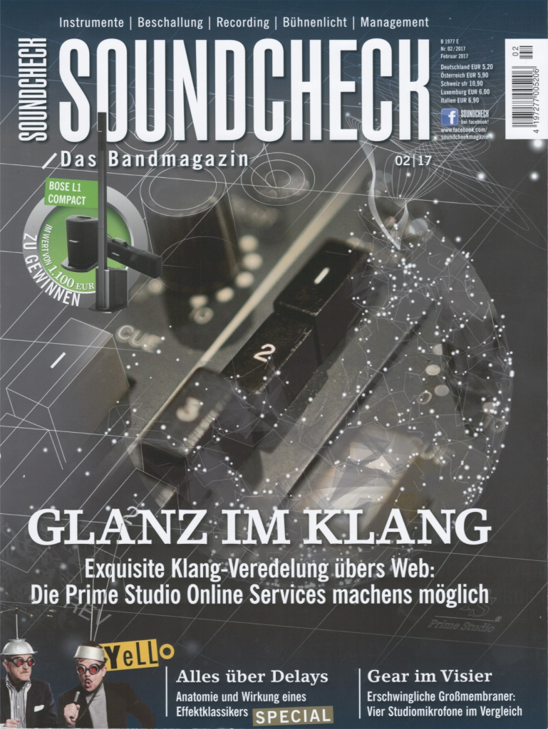 Soundcheck Magazin 02/2017